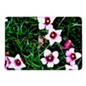 Pink Flowers Over A Green Grass Samsung Galaxy Tab Pro 10.1 Hardshell Case View1