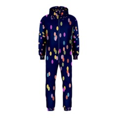 Playful Confetti Hooded Jumpsuit (kids)