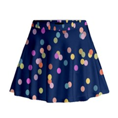 Playful Confetti Mini Flare Skirt