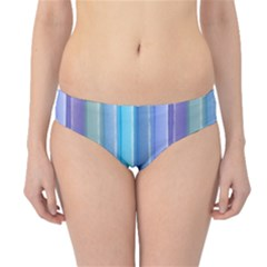 Provence Fields Lavender Pattern Hipster Bikini Bottoms