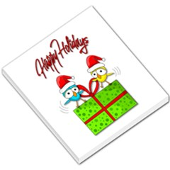 Cute Xmas Birds Small Memo Pads by Valentinaart
