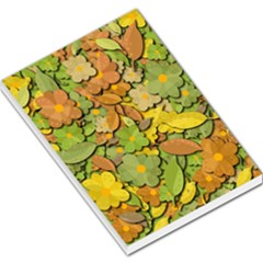 Autumn Flowers Large Memo Pads by Valentinaart