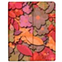 Beautiful floral design Apple iPad Mini Flip Case View1