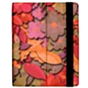 Beautiful floral design Apple iPad Mini Flip Case View2
