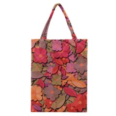 Beautiful Floral Design Classic Tote Bag by Valentinaart