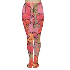 Beautiful Floral Design Women s Tights by Valentinaart