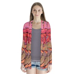 Beautiful Floral Design Cardigans by Valentinaart