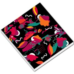 Colorful Abstract Art  Small Memo Pads by Valentinaart