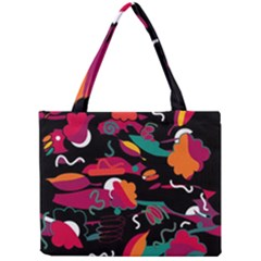 Colorful Abstract Art  Mini Tote Bag by Valentinaart
