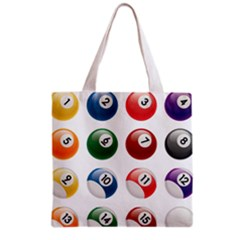 Billiards Grocery Tote Bag by AnjaniArt