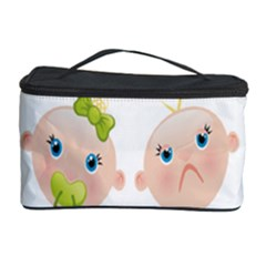 Cute Baby Picture Cosmetic Storage Case by AnjaniArt