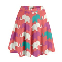 Elephant High Waist Skirt