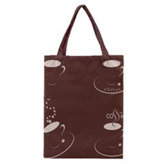 Four Coffee Cups Classic Tote Bag