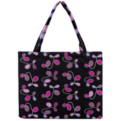 Magenta Garden Mini Tote Bag by Valentinaart