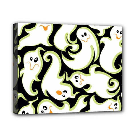 Ghosts Small Phantom Stock Canvas 10  X 8  by AnjaniArt