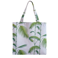 Hawai Tree Zipper Grocery Tote Bag