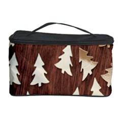Gold Tree Background Cosmetic Storage Case