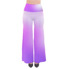 Purple White Background Bright Spots Pants by AnjaniArt