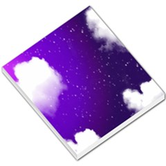 Purple Cloud Small Memo Pads by AnjaniArt