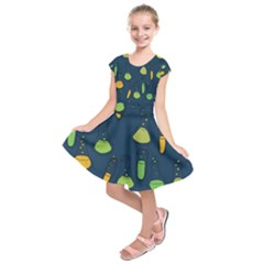 Science Geek Kids  Short Sleeve Dress by BubbSnugg