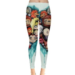 Should You Need Us 2 0 Leggings  by lvbart