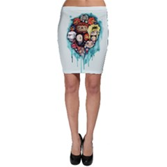 Should You Need Us 2 0 Bodycon Skirt by lvbart