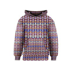 Ethnic Colorful Pattern Kids  Pullover Hoodie