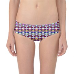 Ethnic Colorful Pattern Classic Bikini Bottoms by dflcprintsclothing