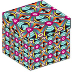 Targets Pattern                                                                                                                Storage Stool by LalyLauraFLM