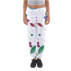 Abstract Floral Design Women s Jogger Sweatpants by Valentinaart