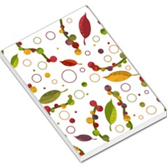 Adorable Floral Design Large Memo Pads by Valentinaart
