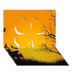 Day Halloween Night Clover 3d Greeting Card (7x5)