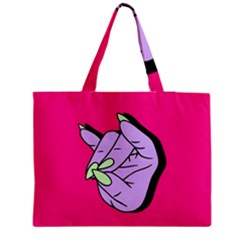 Finger Medium Tote Bag