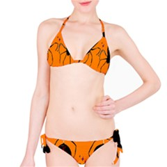 Happy Hellpween Spider Bikini Set