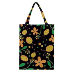 Ladybugs And Flowers 3 Classic Tote Bag by Valentinaart