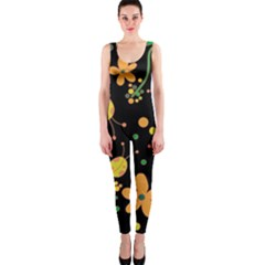 Ladybugs And Flowers 3 Onepiece Catsuit