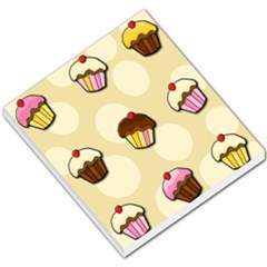 Colorful Cupcakes Pattern Small Memo Pads by Valentinaart