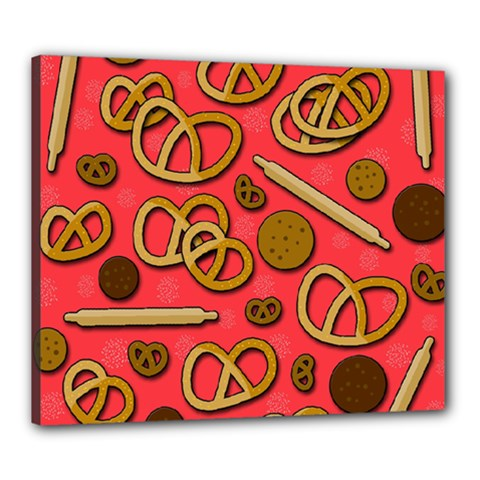 Bakery Canvas 24  X 20  by Valentinaart