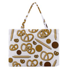 Bakery 3 Medium Zipper Tote Bag by Valentinaart