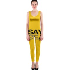 Say Yes Onepiece Catsuit