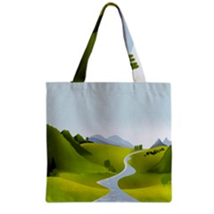 Scenery Grocery Tote Bag