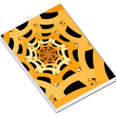 Spider Helloween Yellow Large Memo Pads