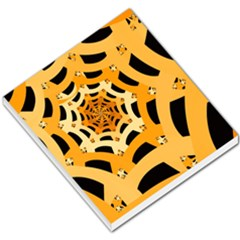 Spider Helloween Yellow Small Memo Pads by AnjaniArt