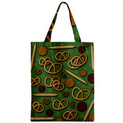 Bakery 4 Zipper Classic Tote Bag by Valentinaart