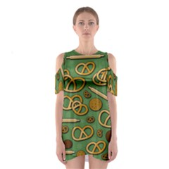Bakery 4 Cutout Shoulder Dress by Valentinaart