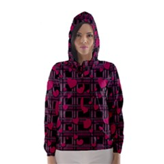 Harts Pattern Hooded Wind Breaker (women)