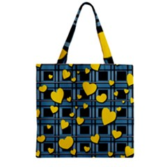 Love Design Zipper Grocery Tote Bag by Valentinaart