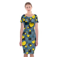 Love Design Classic Short Sleeve Midi Dress by Valentinaart