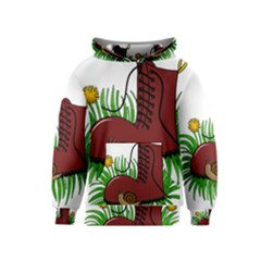 Boot In The Grass Kids  Pullover Hoodie