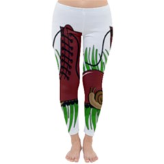 Boot In The Grass Classic Winter Leggings